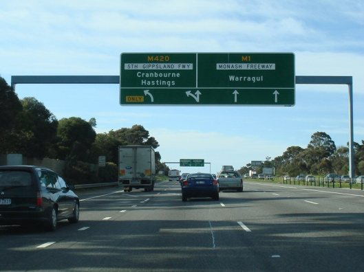 monash freeway