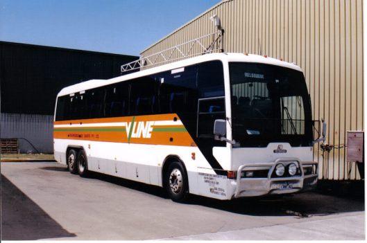 vline bus phillip island