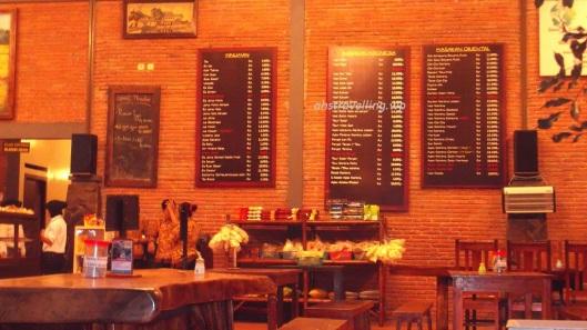 warung kencur - menu