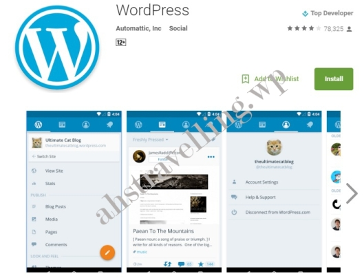 wordpress apps