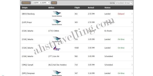 flightstats - juanda arrivals2