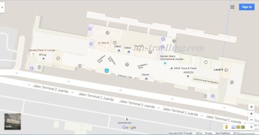 google indoor maps bandara juanda
