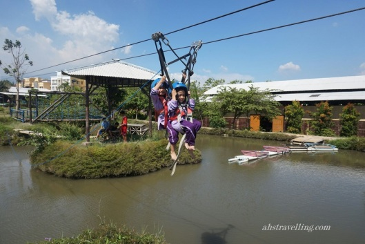 kampung kidz flying fox