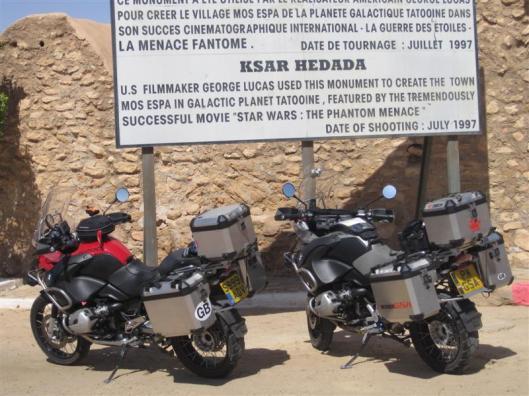 Ksar Hadada Tunisia moto travelling