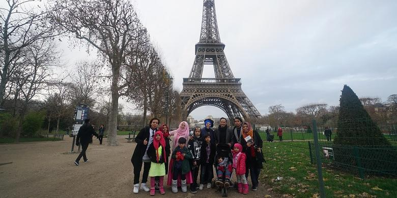 Squishy Gen Halilintar : Kunci Sukses Pasutri Keliling Dunia Bersama 11 Anak Ahs Travelling