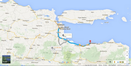 kawah ijen - road trip etape1