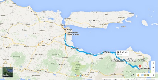 kawah ijen - road trip etape2
