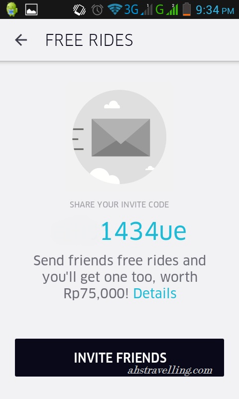 uber free ride