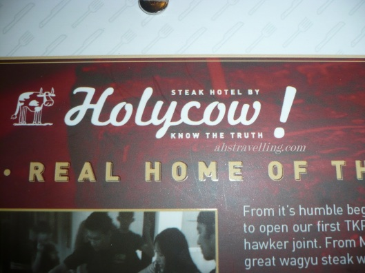 holycow menu