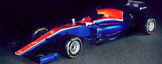 manor racing - car