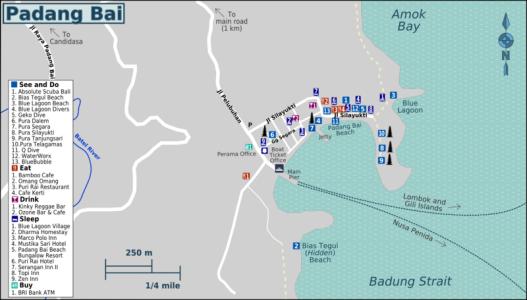 Padangbai-bali-Map