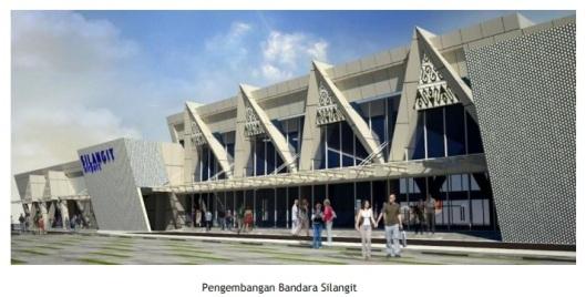 bandara silangit - pengembangan
