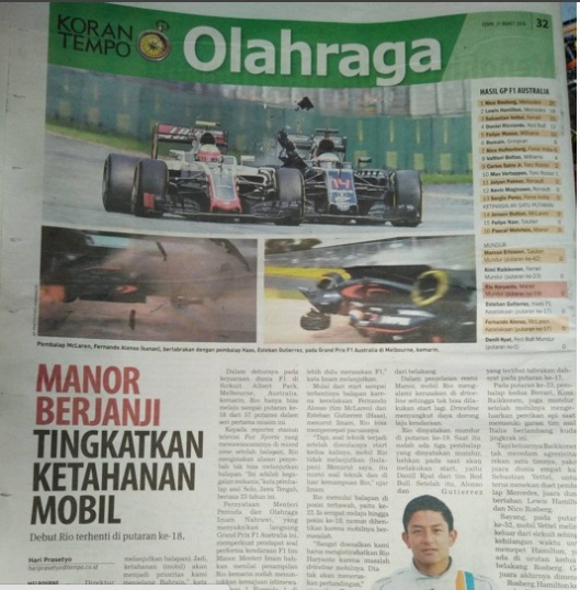 manor racing menyesal