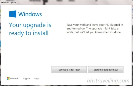 windows 10 ready to install croped