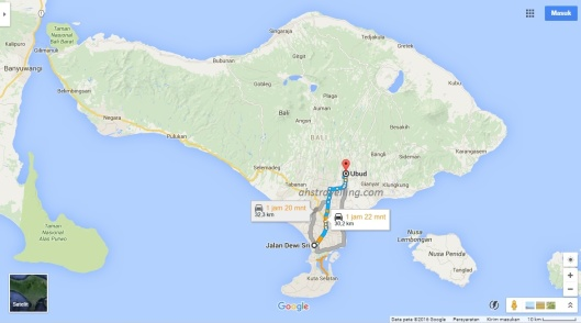 kbw - ride in bali - dps ubud