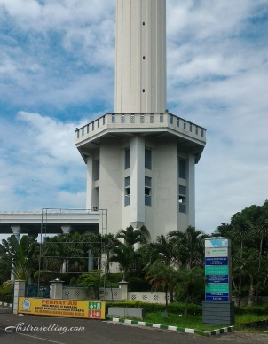 Masjid Al-Akbar Surabaya -- Lift Tower
