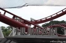 uss - battlestar galactica human rollercoaster
