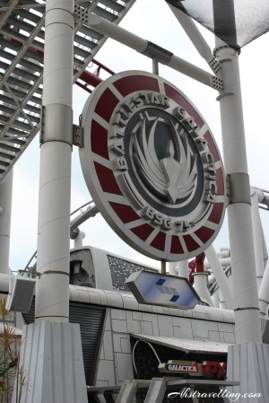 uss - battlestargalactica rollercoaster