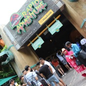 uss - jurassic park rapid adventure